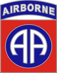 82nd Airborne Division Combat Service ID Badges